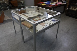 Stamford Hospital Museum Display Cabinet