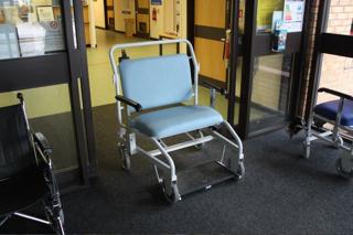 Large Wheel Chair