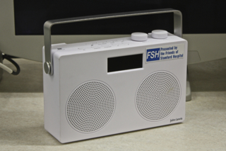 Radio for Clinic Room