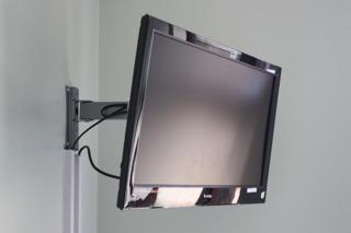 Wall-mounted TV brackets