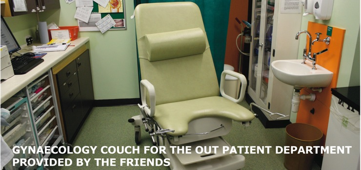 Outpatients Gynaecology Couch